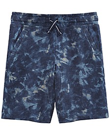 Little Boys Tie-Dye Knit Shorts, Created for Macy's