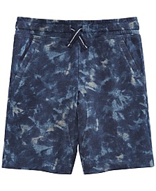 Epic Threads Little Boys Tie-Dye Knit Shorts, Created for Macy's