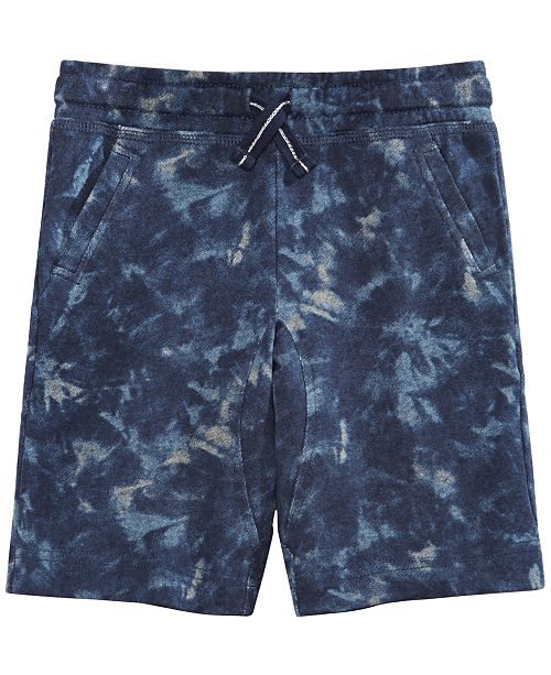 Epic Threads Toddler Boys Tie-Dyed Knit Shorts, Created for Macy's