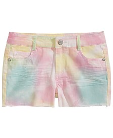 Epic Threads Big Girls Tie-Dyed Shorts, Created for Macy's