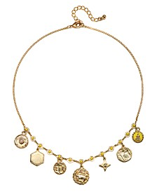 Capwell & Co. Charm Frontal Necklace