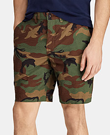 Polo Ralph Lauren Men's Big & Tall Classic Fit Cotton Camouflage Shorts