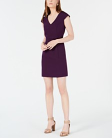Bar III V-Neck Bodycon Dress, Created for Macy's