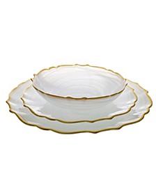 Alabaster 12 Piece Dinnerware Set