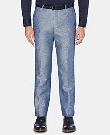 Perry Ellis Men's Portfolio Modern-Fit Solid Dress Pants