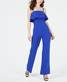 GUESS Sara Ruffled Jumpsuit