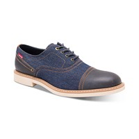 Deals on Levis Mens Essex Denim Lace-Up Shoes