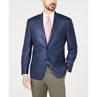 Deals on Lauren Ralph Lauren Mens Classic-Fit Ultraflex Stretch Plaid Sport Coat