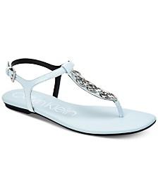 Calvin Klein Women's Silva Flat Sandals