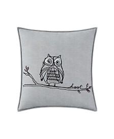 Ellen Degeneres Boceto Hoot Throw Pillow