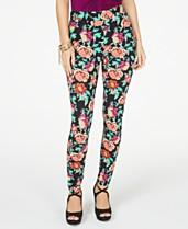 027170d96234f Thalia Sodi Floral Pull-On Leggings, Created for Macy's