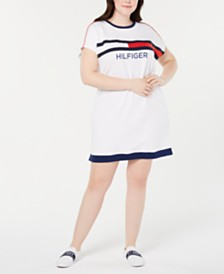 Tommy Hilfiger Sport Plus Size T-Shirt Dress