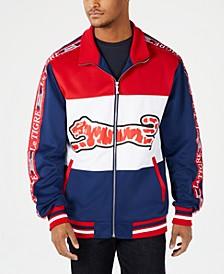 Men's Tri-Color Colorblocked Jacket