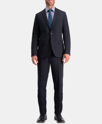 Men's Active Series Herringbone Slim-Fit Suit Separate Jacket