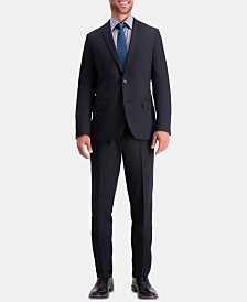 Haggar Men's Active Series Herringbone Slim-Fit Suit Separate Jacket