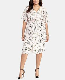 RACHEL Rachel Roy Cait Printed Dress