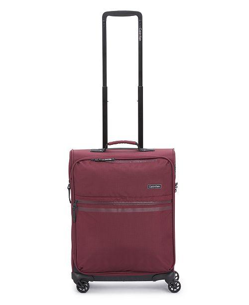 "Calvin Klein Parker 21"" Softside Upright Luggage"