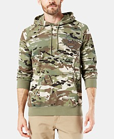 Dockers Men's Alpha Slim-Fit Camouflage Logo Hoodie