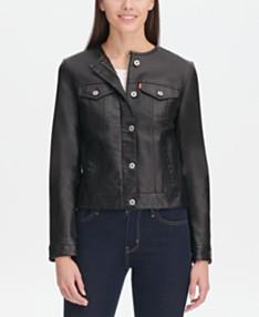 7be228aa Levi's Jackets for Women - Macy's