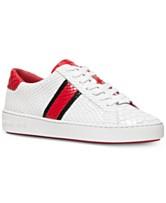 9ab0d1d220b4 MICHAEL Michael Kors Irving Side-Striped Sneakers