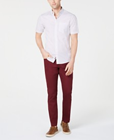 Michael Kors Men's Abner Shirt & Slim-Fit Pants, Created for Macy's