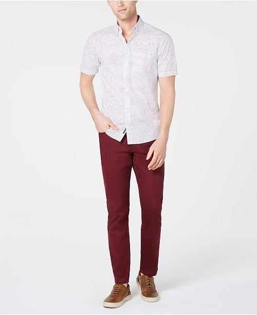 Michael Kors Men's Abner Shirt & Slim-Fit Pants, Created for Macy's