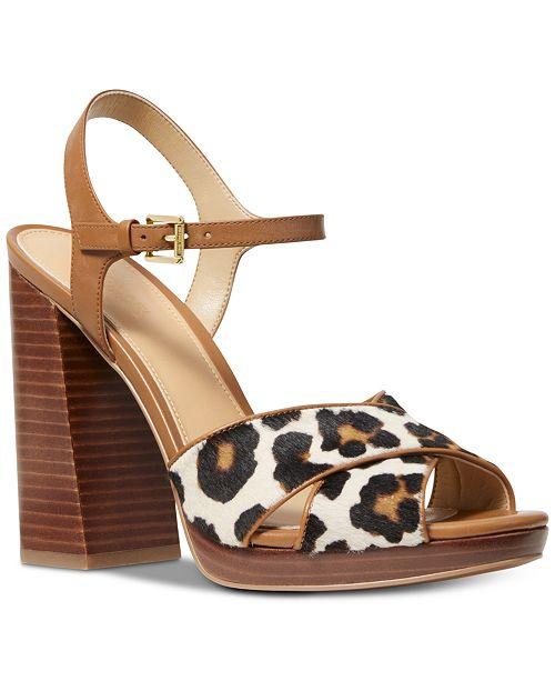 47f5faf55f Michael Kors Alexia Platform Sandals; Michael Kors Alexia Platform Sandals  ...