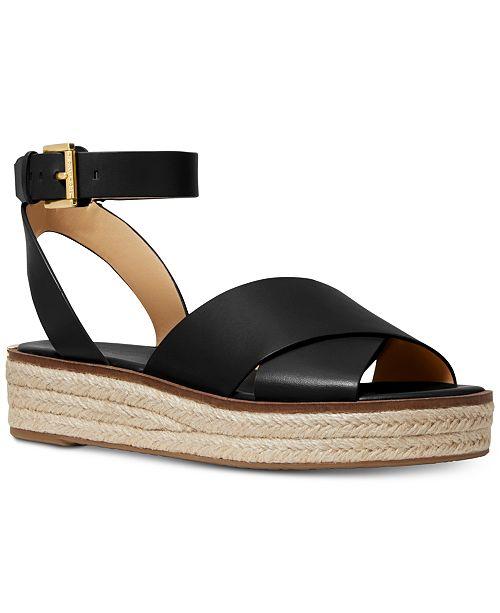 9bc0719354e3d Michael Kors Abbott Sandals   Reviews - Sandals   Flip Flops - Shoes ...
