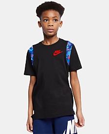 Nike Big Boys Hoopfly Graphic Cotton T-Shirt