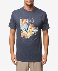 O'Neill Men's Tropic Noise Logo Graphic T-Shirt