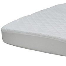 Luxury Fitted Crib Mattress Pad Cover, Quick Ship