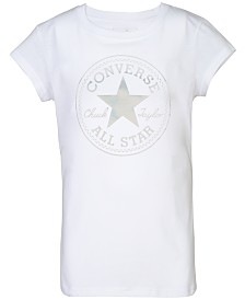 Converse Big Girls Graphic-Print Cotton T-Shirt