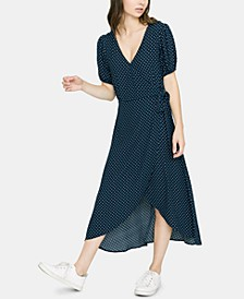 Meadow Printed Wrap Dress