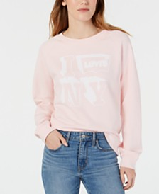 Levi's® Cotton Graphic Sweatshirt