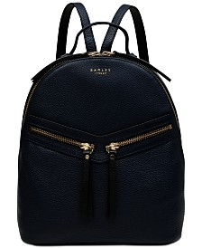 Radley London Smith Street Leather Top-Zip Backpack