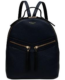 Radley London Smith Street Leather Top-Zip Backpack