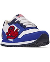 26e5aba4863 Polo Ralph Lauren Little Boys' Oryion Script Casual Sneakers from Finish  Line