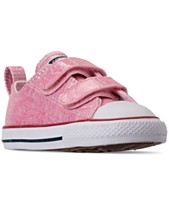 1572f3a2ab74 Converse Toddler Girls  Chuck Taylor All Star 2V Casual Sneakers from  Finish Line