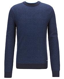 BOSS Men's Cotton Sweater
