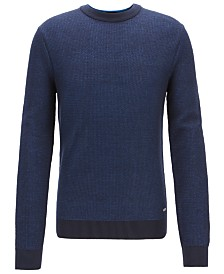 BOSS Men's Cotton Sweater