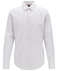 BOSS Men's Regular/Classic Fit Cotton Shirt