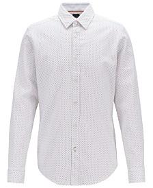 BOSS Men's Regular/Classic Fit Cotton Shirt