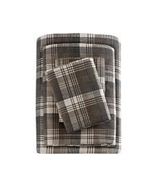 Woolrich Cotton Flannel 4-Pc. Queen Sheet Set
