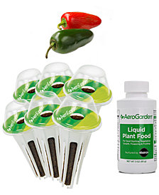 AeroGarden Jalapeño Pepper 6-Pod Seed Kit