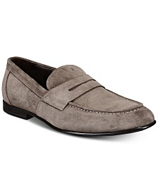 Bruno Magli Men's Sonata Suede Penny Loafers