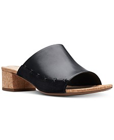 Clarks Collection Women's Elisa Abby Mule Sandals