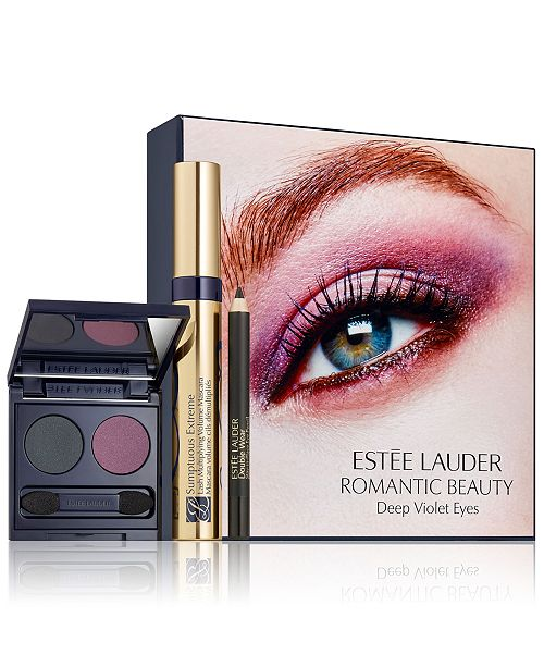 Estee Lauder 3-Pc. Romantic Beauty Deep Violet Eyes Set
