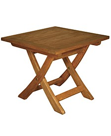 TERRACE MATES ASPEN Folding Square End Table, 18""