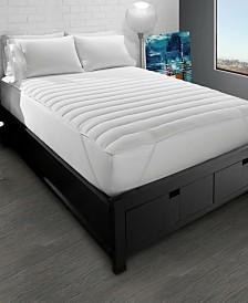 Big and Soft Fiber Bed Mattress Pad - Queen