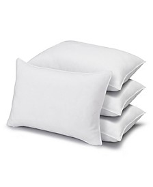 Soft Plush Gel Fiber Filled Allergy Resistant Stomach Sleeper Pillow